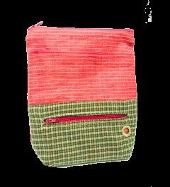 Pamslkovník červený se zelenými mřížkami