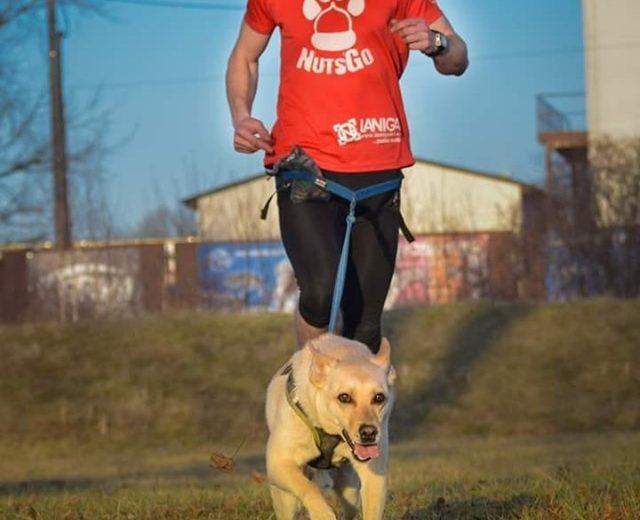 Ukázka běhu se psem. (Zdroj: soukromé album Terezy Bulasové)
