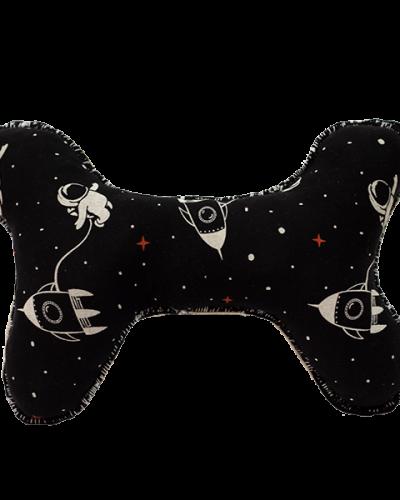 Kost černá - vzor: vesmír