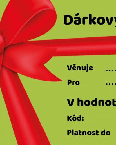 Potěšpsa.cz dárkový poukaz 1 000 Kč